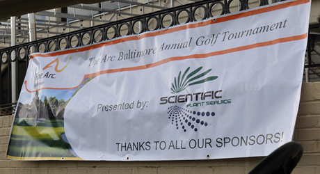 Scientific Plant Services was the Title Sponsor of The Arc Baltimore's Golf Tournament this year!