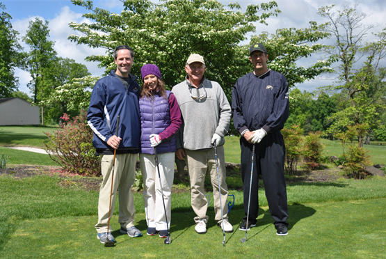 From Left to Right: Brian Haga, Kim Haga, Dan Rozinak, Dan Dutterer