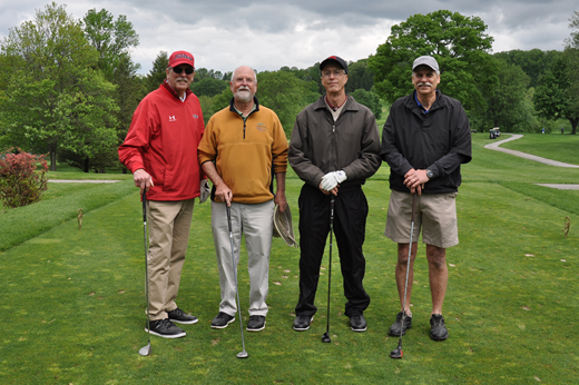 From left to right: Wayne Humphries, Russell Bateman, Gene Parry, Brent Humphries